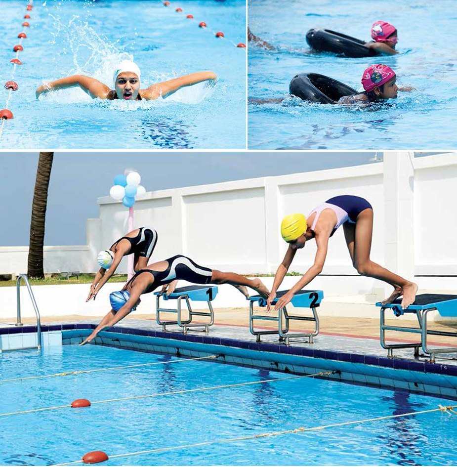 Swimming colombo swimming club sri lanka for Mangalore swimming pool timings